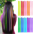 Promotion fashion Hairpiece clip on hair Extensions avaliable with different colours