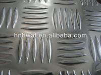 Free Sample Aluminum Tread Cheker Plate 1050 5052 5005 6061 Checker Plate Weight