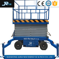 Mobile electric scissor lift / auto scissor ladder for aerial work