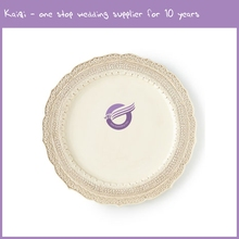 PZ00730 new arrival European ivory western ceramic dinner plates