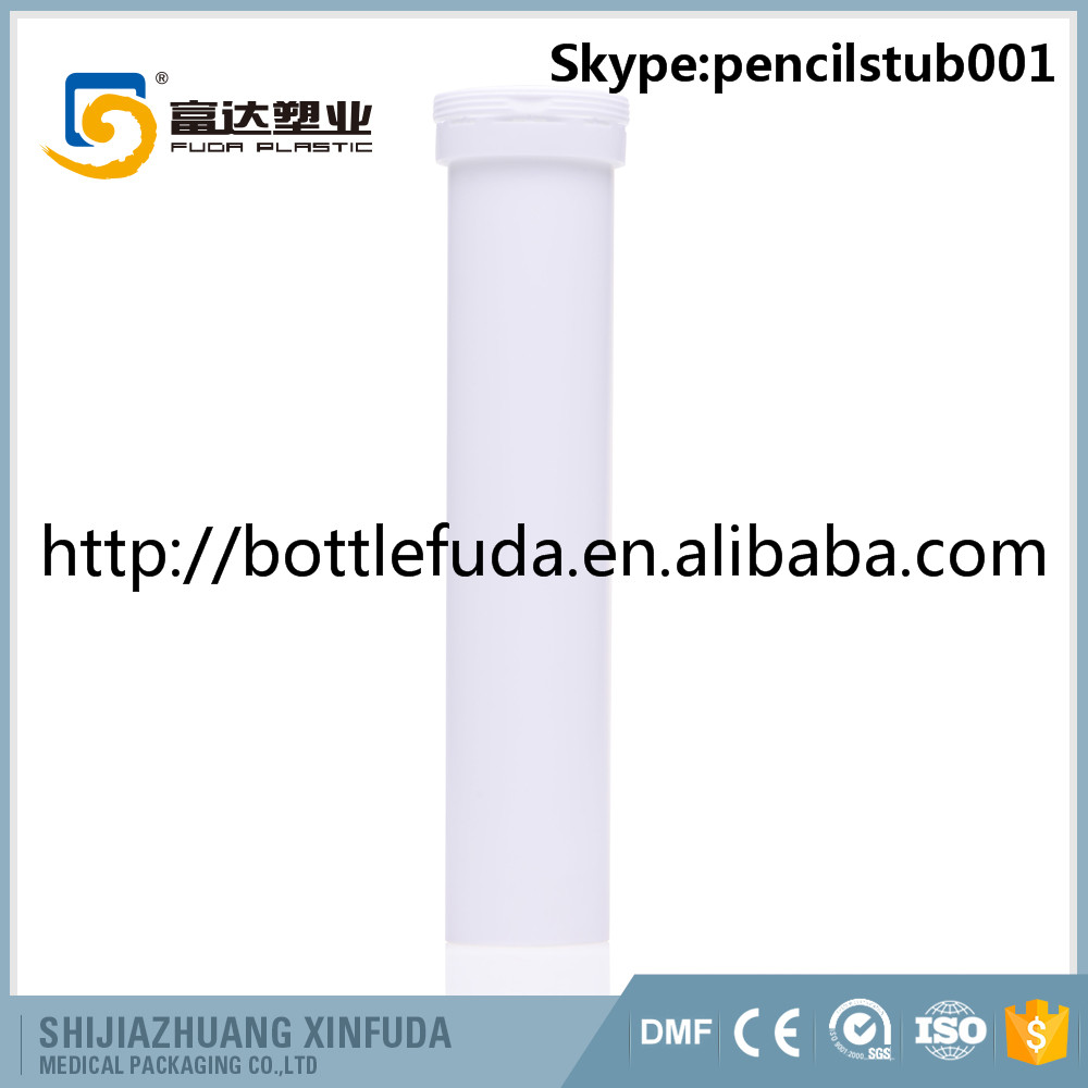 Certificated 84mm 96mm 99mm 144mm length effervescent tablets packaging