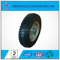 High Quality Rubber Wheel 3.00-4 260x85