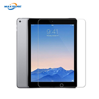 9H hardness 0.33mm wholesale tempered glass screen protector for ipad air/air 2 9.7 tempered glass