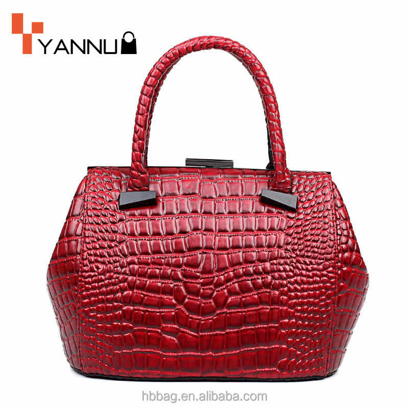 New arrival designer bag cheap handbag ladies 2016 for women crocodile leather bags
