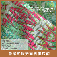 fashion designers for show forest print design pattern knitting jacquard printed fabric