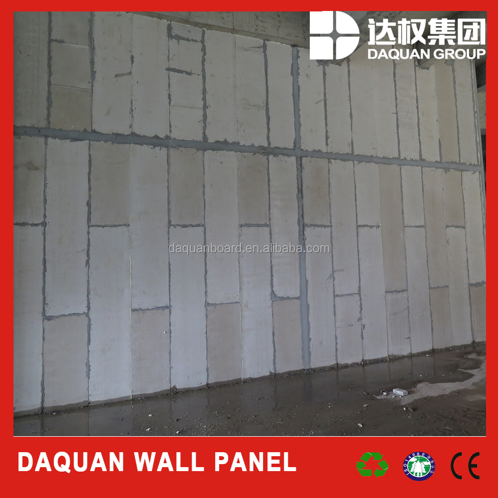 Light fire waterproof insulation eps cement sandwich panle