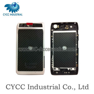 Mobile Phone back cover with middle frame for Motorola XT910/XT912