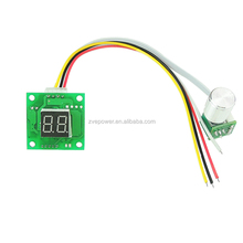 New Hot Digital Display DC Motor Speed Control Controller 6-28V PWM Adjust Speed Switch