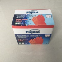 glove packing corrugated paper box