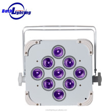 DJ equipment professional LED par light 9x18 W RGBWA+UV smart par can lights Wedding Party light