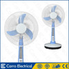 Top selling dependable performance table fan specifications CE-12V16A2 with LED lamp