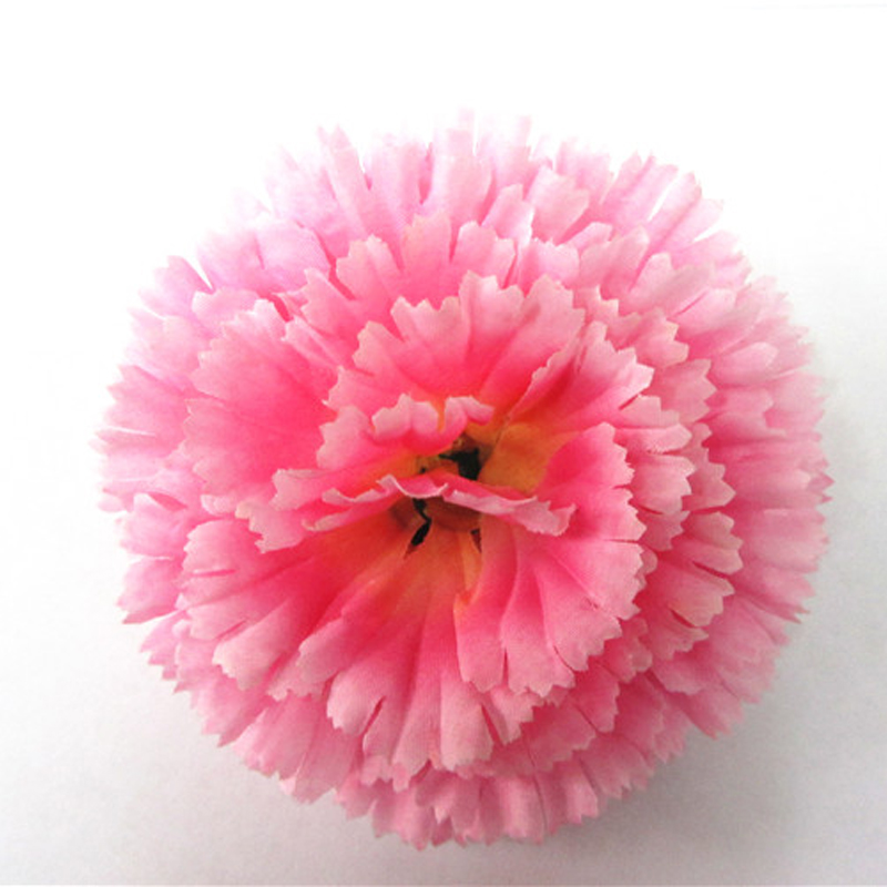 7cm 9 layer fabric fake flowers in bulk handmade decoration flower carnation flowers