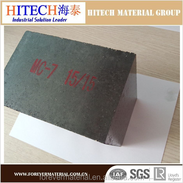 High quality refractory material magnesia carbon brick for Ladle
