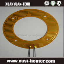 low voltage flexible polyimide battery film heater