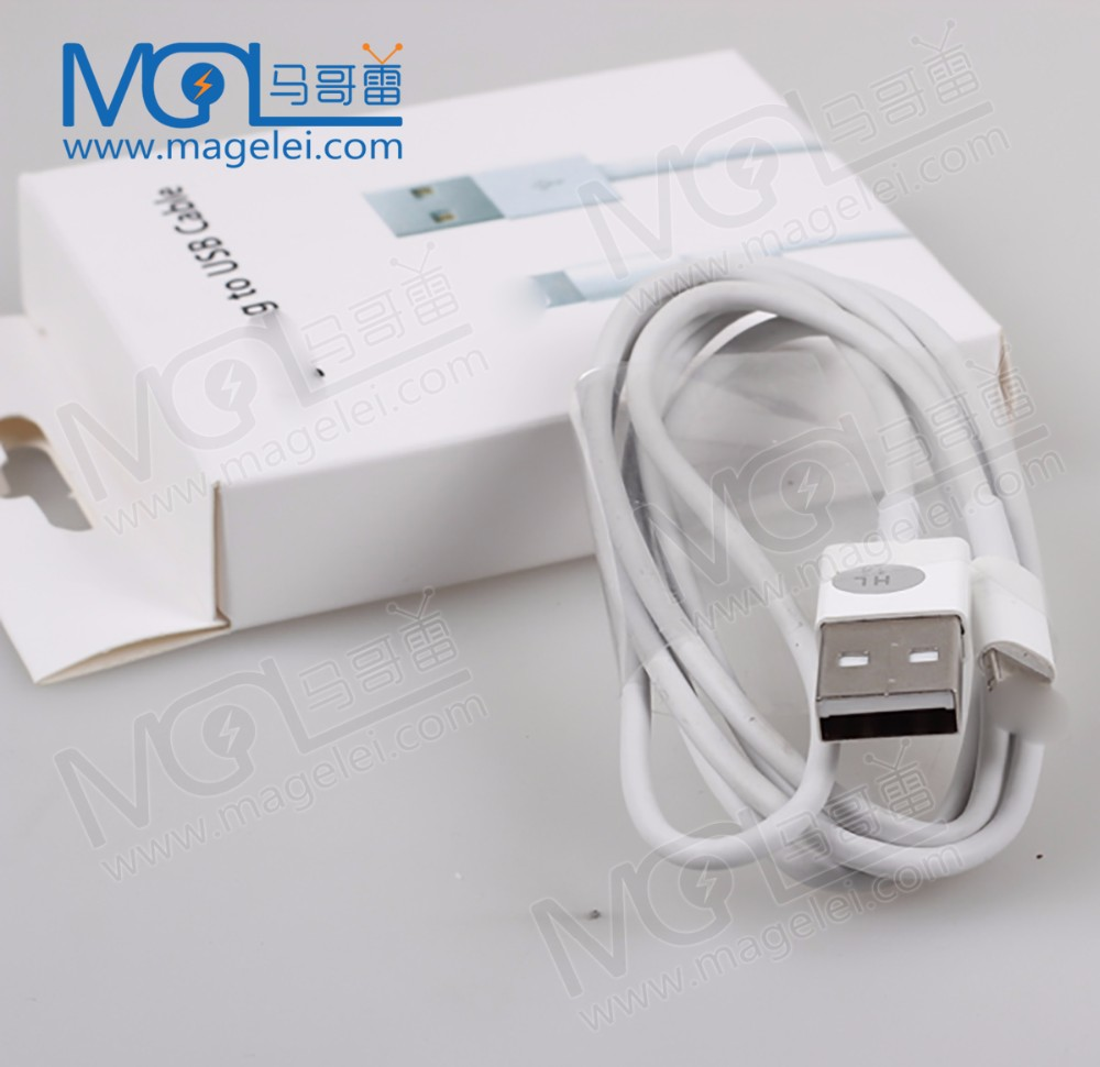 OEM wholesale Cellphone Accessories 1m 2m USB Data Charging Cable for iphone 5 5s 6s plus 7 7s 7plus wire Charger micro