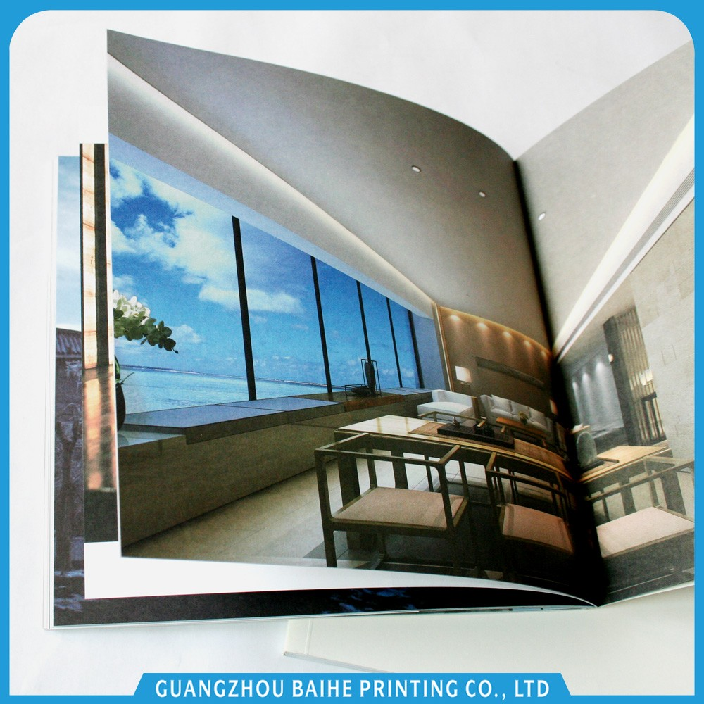China wholesale custom high quality full color paperback book printing