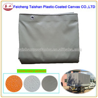High Quality Rough Matte Surface PVC Tarpaulin PVC Coated Fabric For Cover