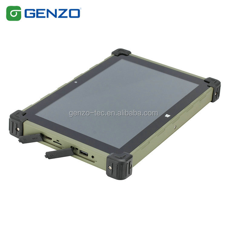 New 10.1 Inch High strength glass touch screen rugged tablet pc