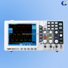 Low Cost owon TDS7104 touch screen digital oscilloscope with 100Mhz 4 channel, 1Gsa/s