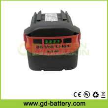 Hilti 36V 3.0Ah Li-ion power tool battery, B36 cordless drill battery