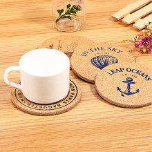 Wholesale Custom MDF Cork Bottom Promotional Drink Paper Coasters