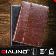 QIALINO 2016 Hot Sales Leather Flip Cartoon Cover For Ipad 2