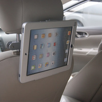 anti-theft tablet car mount / taxi head rest holder for iPad/ security tablet cradle