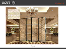 China decorative room divider screen for hotel