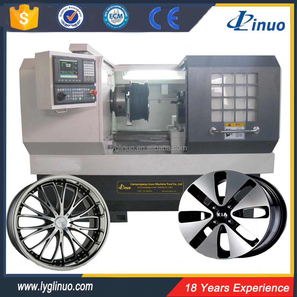 National standard good AMR6160A alloy wheel repair cnc lathe machine