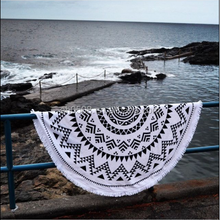Custom Printed Beach Towel with Pillow Design Cotton Beach Towel Round Beach Towel wholesale china