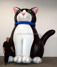 inflatable replica for sale/inflatable animal planet cat