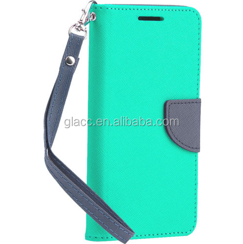 Wholesale Bulk Phone Cases Leather PU Flip Cover Back Case For ZTE Tempo n9131/Fanfare Wallet