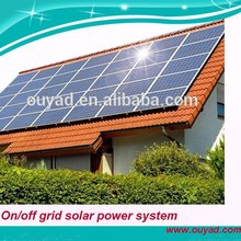 2015 new products 3KW solar power system for home loading air conditioner and freezer