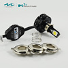 Factory supply 24W M3c 2500LM headlight covers for motorcycle