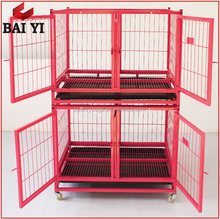 Promotion Galvanized Dog Kennel/Metal Dog Cage/Dog Crates With Wheels