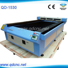 QD-1530 large size wood laser engraving cutting machine with component picture