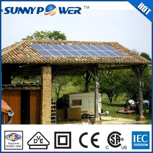 high quality lower price 2kw solar power / 2kw portable panel solar system generator