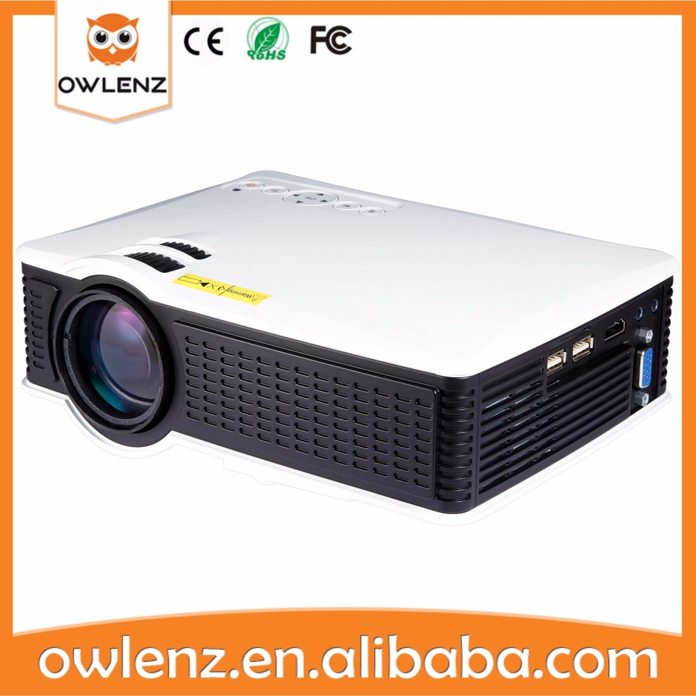 1500 Lumens SD50 Portable Led projector Mini home theater projector 1080p updated version of unic UC46 hd projector