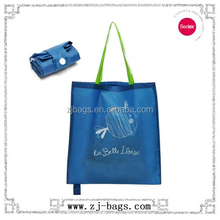 washable eco shopper foldable folded tote shopping bag
