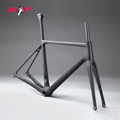 2018 Hot sales 700C*28C road bike tire disc flat mount road bike carbon frame FM088