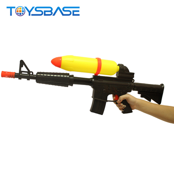 Kids Summer Toy Water Gun Big Black Water Based Paint Spray Gun