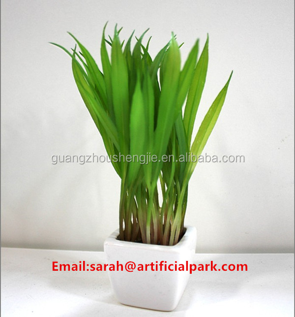 china shengjie artificial plants/artificial mini plants artificial grass landscaping
