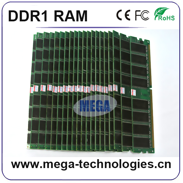 Sdram ddr1 400mhz 1gb 2gb desktop laptop ram memory