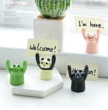 Tabletop Decorative Animal Shape Resin Photo Holder