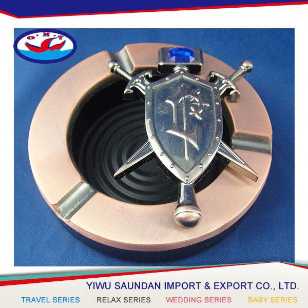 Latest product custom design outdoor advertising ashtray wholesale price