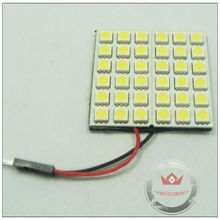 PCB 5050 36smd led dome lights for car with three connectors