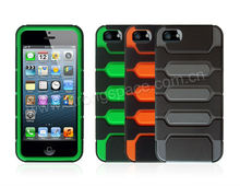 New For iPHONE5 Tpu+Pc Colorful Cases,oem factory