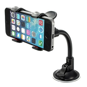 Car Holder For iPhone Long Arm Sucker Car Holder Dashboard Windshield Suction Cup 360 Degree Rotate Universal Phone holder