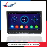 10.1 inch android universal gps navigation with car dvd player