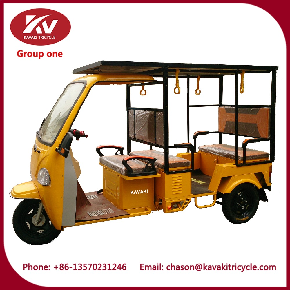 KAVAKI Electric vehicle solar powered electric car five passenger